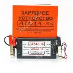 Зарядное АИДА-3s для гелевых АКБ